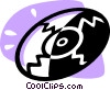 Compact Discs  CD's Vector Clip Art picture