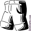 Shorts Vector Clip Art graphic