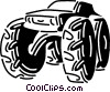 Off-Road Vector Clipart illustration