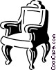Vector Clip Art image  of a Chairs