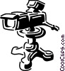 Cameras Vector Clipart graphic