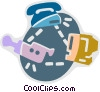 Newsroom Concepts Vector Clipart graphic