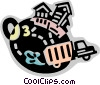 Pollution Vector Clip Art picture