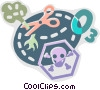 Pollution Vector Clip Art graphic