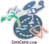 Floods Vector Clipart graphic