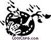 Vector Clip Art graphic  of a Floods