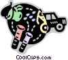Pest Control Vector Clip Art graphic