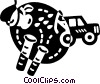 Pest Control Vector Clipart illustration