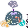 Pollution Vector Clipart image