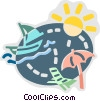 Summer Vector Clipart graphic