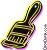 Vector Clipart image  of a Paintbrushes