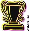 Trophies, Awards Winning Prize Vector Clip Art image