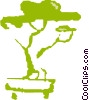 Vector Clip Art picture  of a Nature