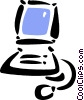 Vector Clipart picture  of a Technology