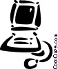 Vector Clipart graphic  of a Technology