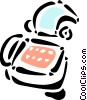 Vector Clip Art image  of a Technology