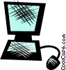Vector Clip Art picture  of a Technology
