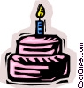 Vector Clipart graphic  of a Celebrations