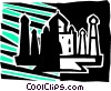 Structures Vector Clipart picture
