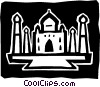 Vector Clipart graphic  of a Structures