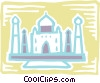 Vector Clip Art image  of a Structures