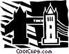 Vector Clipart illustration  of a Structures