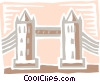 Vector Clipart picture  of a Structures