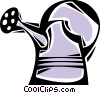 Vector Clipart image  of a Watering Cans