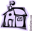 Vector Clip Art graphic  of a Structures
