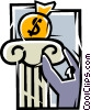 Financial Concepts Vector Clipart graphic