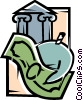 Vector Clip Art image  of a Financial Concepts
