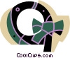 Vector Clip Art image  of a Wreaths