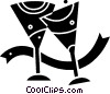 Champagne Vector Clipart graphic