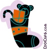 Vector Clipart picture  of a Stockings