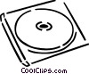 CD-ROM Media Vector Clipart picture