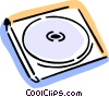 CD-ROM Media Vector Clip Art image