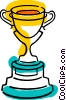 Trophies, Awards Winning Prize Vector Clipart illustration