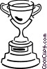 Trophies, Awards Winning Prize Vector Clip Art graphic