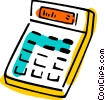 Calculators Vector Clipart picture