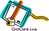 Vector Clip Art picture  of a Graphics Tablets