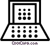 Laptops and Notebook Computers Vector Clip Art picture
