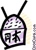 Vector Clipart image  of a Chinese