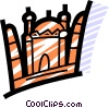 International Buildings Vector Clipart image