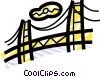 Golden Gate Bridge Vector Clip Art image