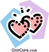 Vector Clip Art image  of a Hearts