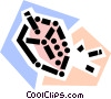 Dreidels Vector Clipart illustration