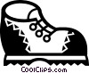 Hiking Boots Vector Clip Art picture