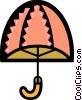 Vector Clipart illustration  of a Umbrellas
