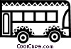 Vector Clipart graphic  of a Urban Transportation