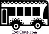 Vector Clip Art picture  of a Urban Transportation